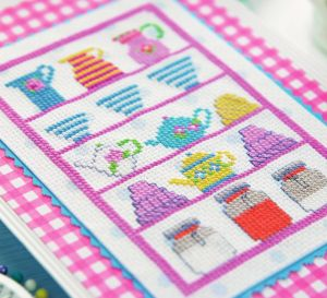 Vintage Style Culinary Stitching Designs