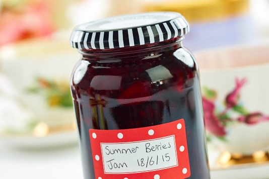 WI Summer Berries Jam Recipe