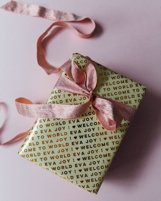 Win One Year of Personalised Wrapping Paper
