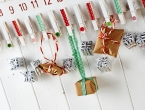 Wooden Peg Advent Calendar