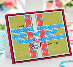 Woven Washi Tape Card