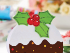 Easy Christmas Pudding Card