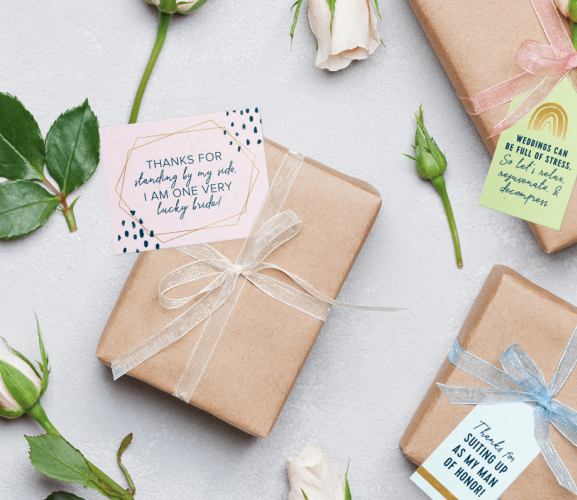 FREE Wedding Gift Tag Downloads