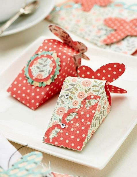 Butterfly Treat & Favour Boxes