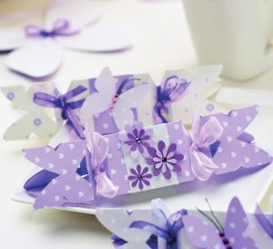 Butterfly Wedding Favour Boxes