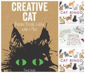 Win One of Four Cat Book Sets