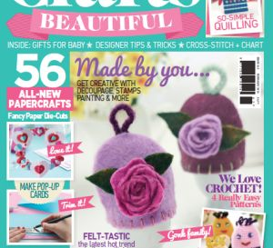 Crafts Beautiful February 2014 (issue 263) Template Pack