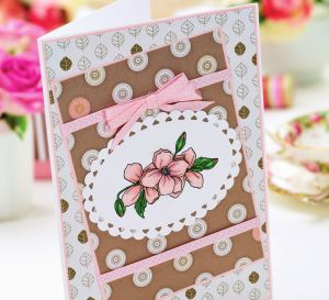 Clematis Themed Painted Cards
