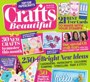 Crafts Beautiful Winter Special 2018 Issue 327 Template Pack