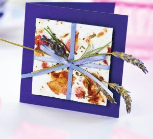 Handemade Paper And Lavender Gifts