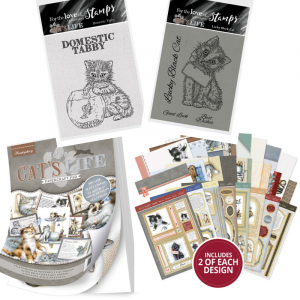 Win One of Four Hunkydory It's A Cat's Life Assortment