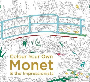 Colour Your Own Monet Illustration