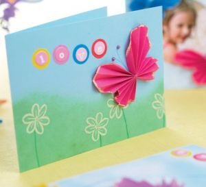 Origami Butterflies Cards