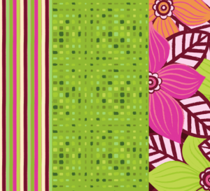 Alison Butler's Bright Complementary Floral Papers