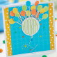 Vibrant Birthday Gifts and Card