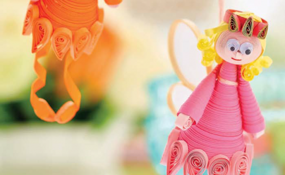 Quilled Fairy Decorations