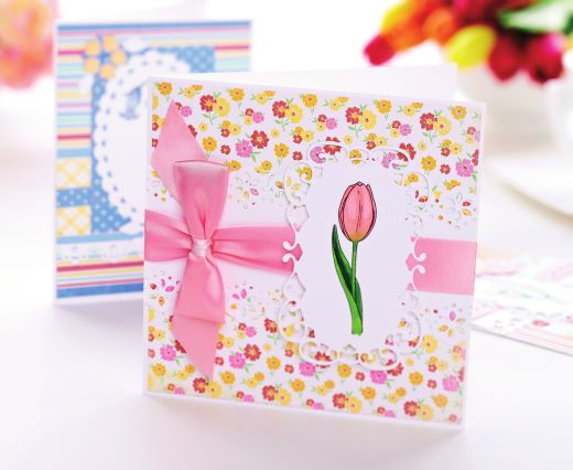 Spring Florals On Cards