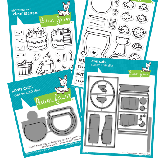 Win One Of Three Lawn Fawn Papercrafting Selections