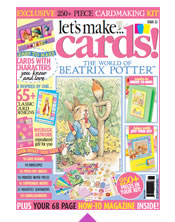 Subscribe to Lets Make Cards Magazine - Issue 32