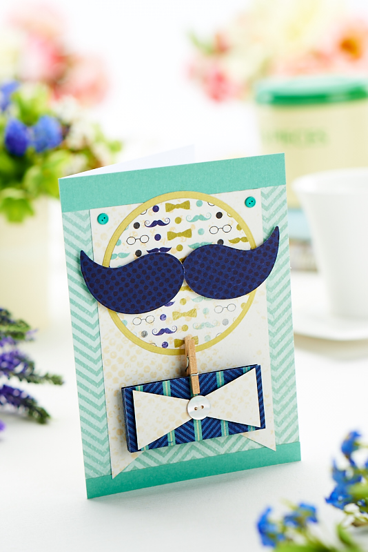 Die-Cut Father's Day Card - Free Craft Project – Card Making - Crafts Beautiful Magazine